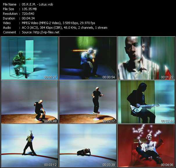 video Lotus screen