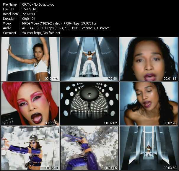 download Tlc « No Scrubs » video vob