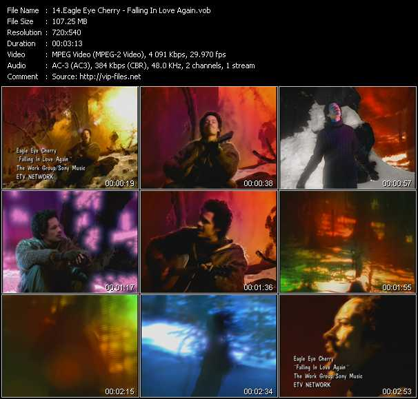 download Eagle Eye Cherry « Falling In Love Again » video vob