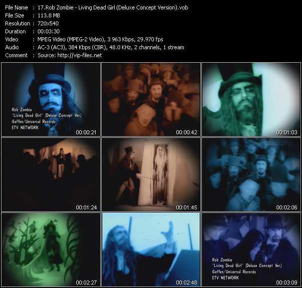 video Living Dead Girl (Deluxe Concept Version) screen