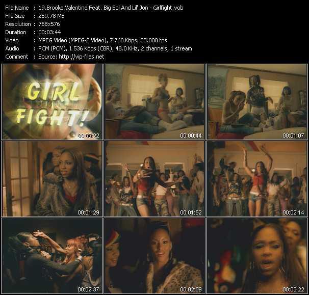 video Girlfight screen