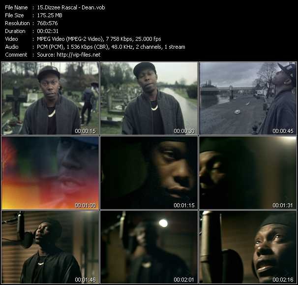 download Dizzee Rascal « Dean » video vob