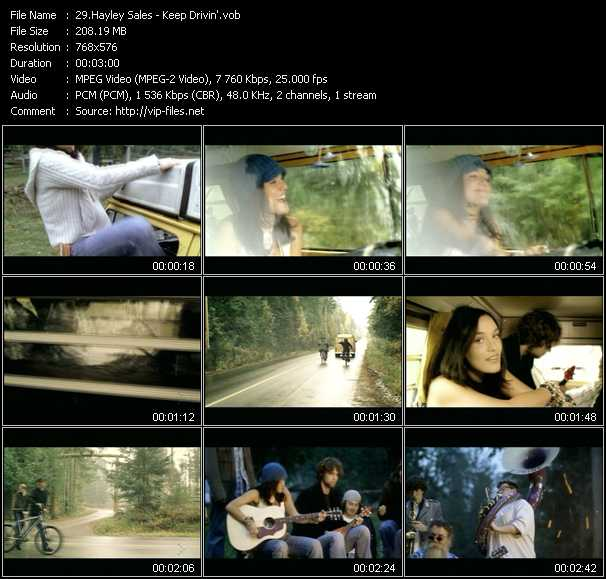 video Keep Drivin' screen