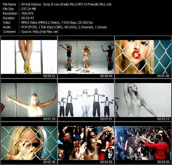 video Drop It Low (Radio Mix) (VPS VJ-Friendly Mix) screen