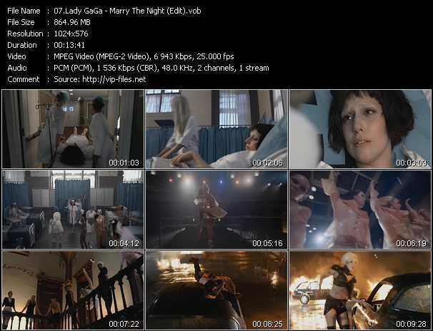 video Marry The Night (Edit) screen