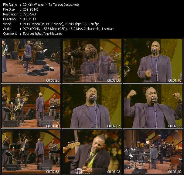video Ta Ta You Jesus screen