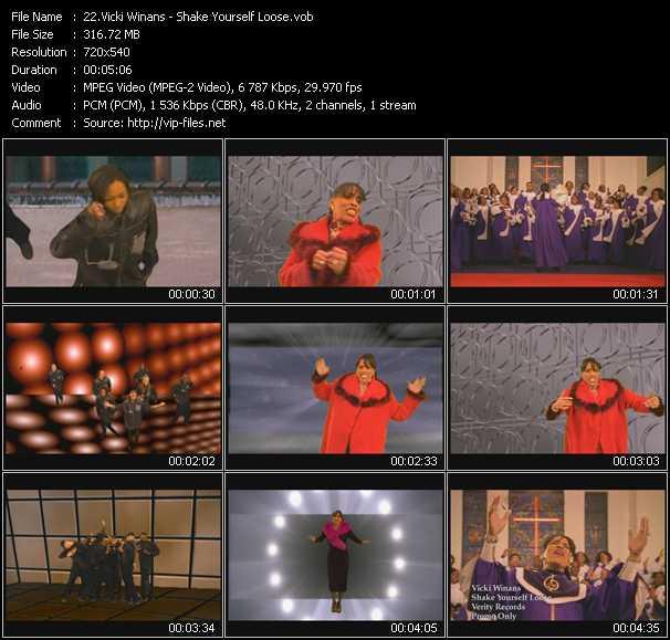 video Shake Yourself Loose screen