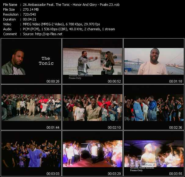 video Honor And Glory - Psalm 23 screen