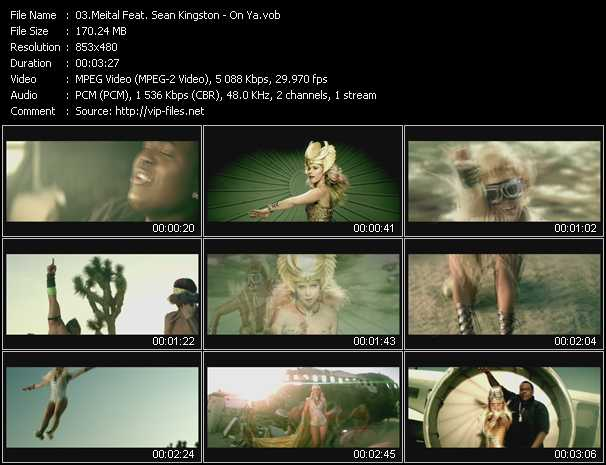download Meital Feat. Sean Kingston « On Ya » video vob