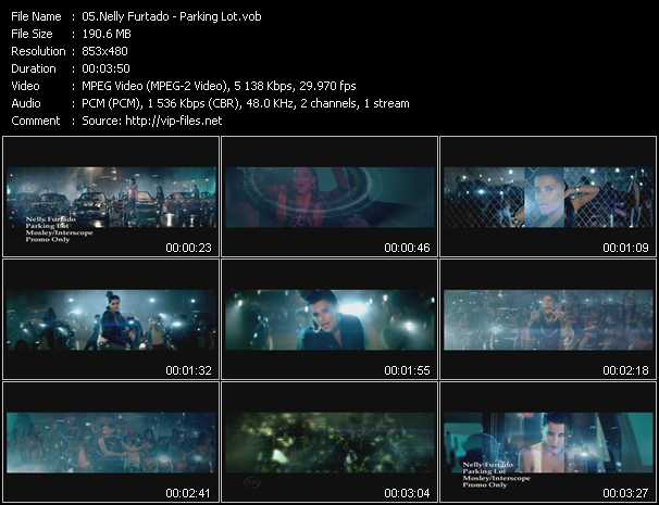 download Nelly Furtado « Parking Lot » video vob