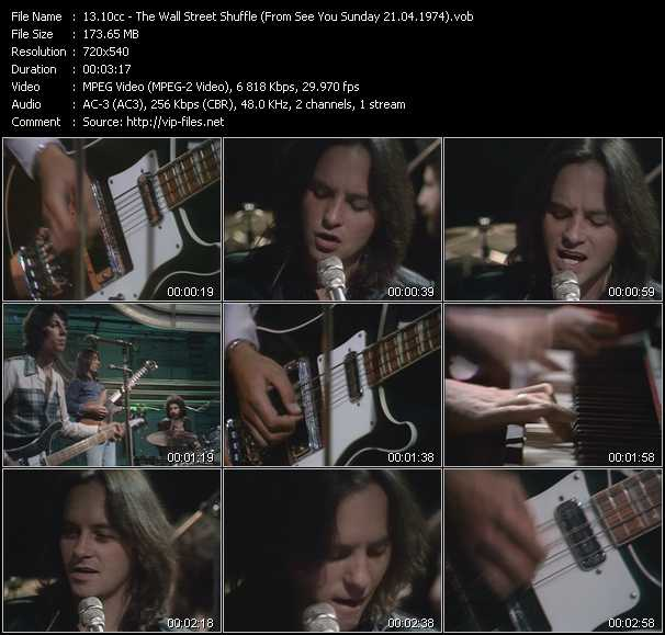 video The Wall Street Shuffle (From See You Sunday 21.04.1974) screen