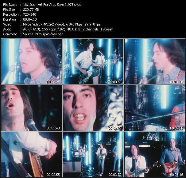 download 10cc « Art For Art's Sake (1975) » video vob