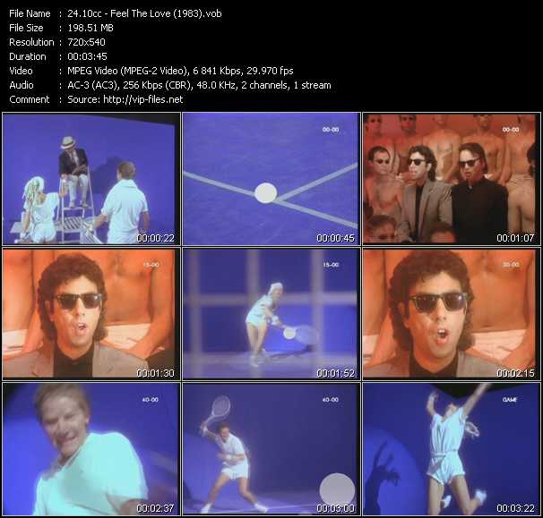 download 10cc « Feel The Love (1983) » video vob