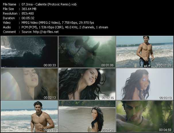 video Caliente (Protoxic Remix) screen