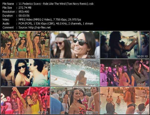 video Ride Like The Wind (Tom Novy Remix) screen
