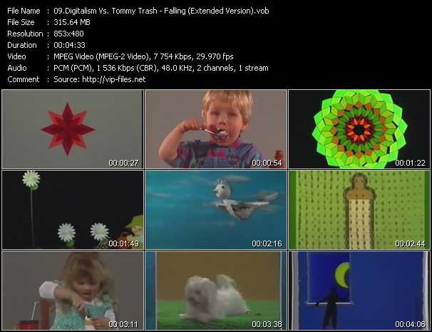 download Digitalism Vs. Tommy Trash « Falling (Extended Version) » video vob