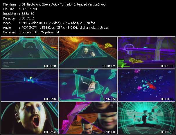 video Tornado (Extended Version) screen
