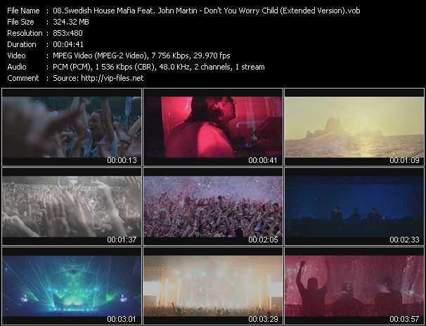 video Don't You Worry Child (Extended Version) screen