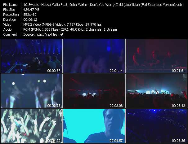 download Swedish House Mafia Feat. John Martin « Don't You Worry Child (Unofficial Video) (Full Extended Version) » video vob