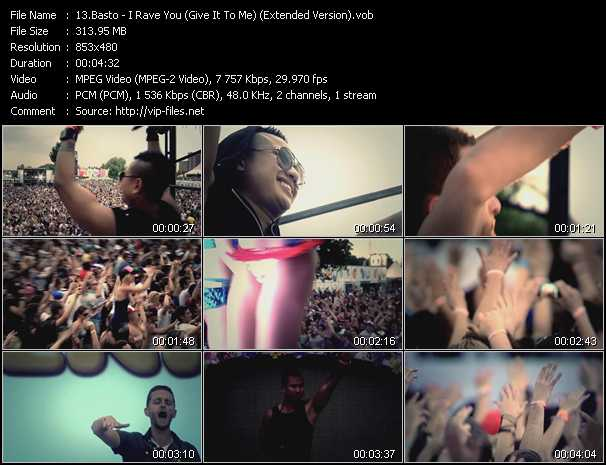 video I Rave You (Give It To Me) (Extended Version) screen