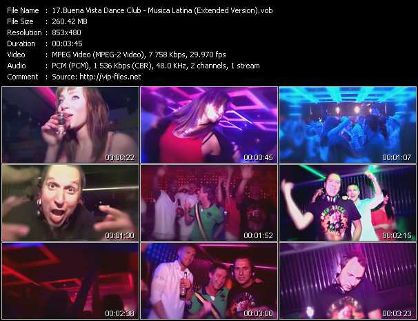 video Musica Latina (Extended Version) screen