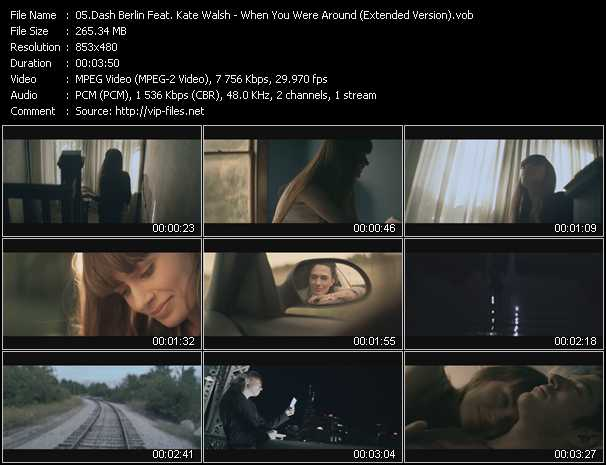 download Dash Berlin Feat. Kate Walsh « When You Were Around (Extended Version) » video vob