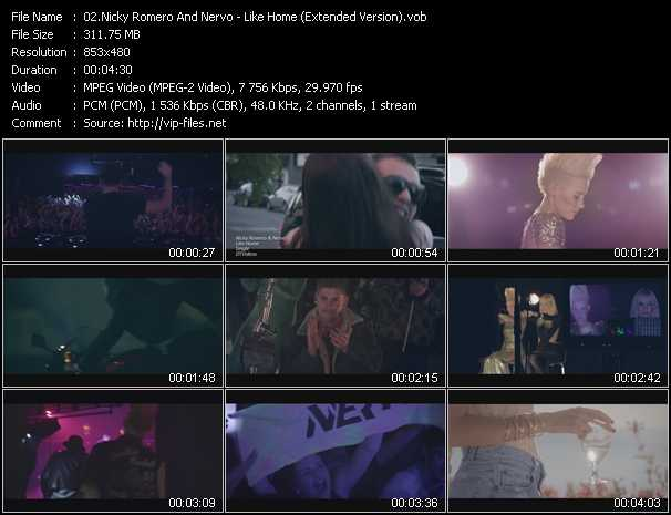 video Like Home (Extended Version) screen