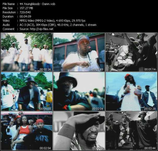 download YoungBloodz « Damn! » video vob