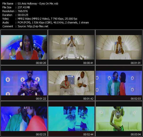 video Eyes On Me screen