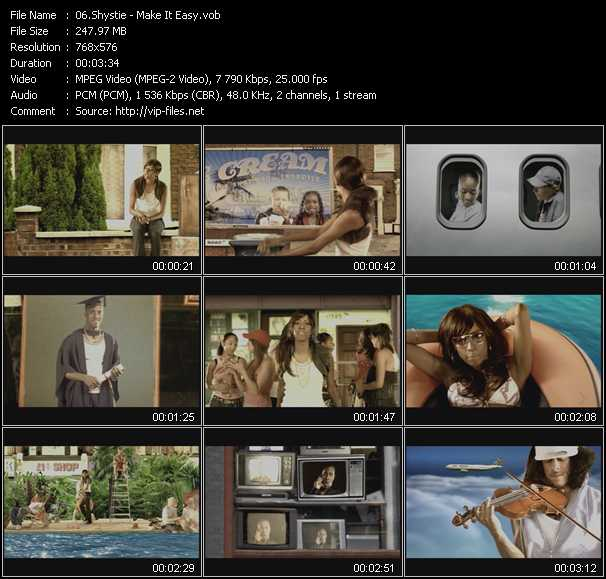 download Shystie « Make It Easy » video vob