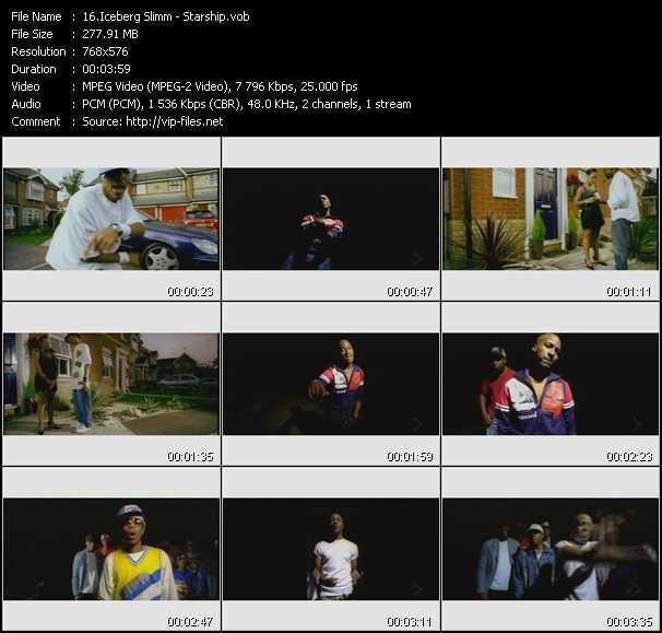 video Starship screen