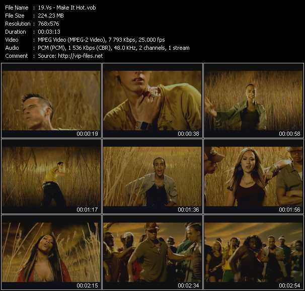 download Vs « Make It Hot » video vob
