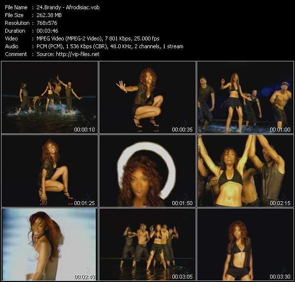video Afrodisiac screen