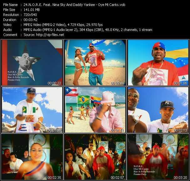 video Oye Mi Canto screen