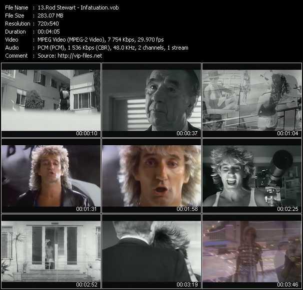 video Infatuation screen