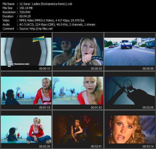 video Ladies (Rockamerica Remix) screen