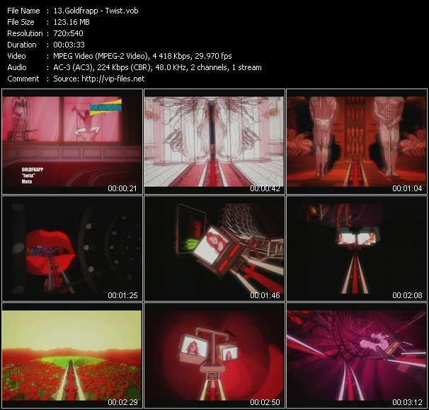 video Twist screen