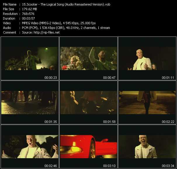 video The Logical Song (Audio Remastered Version) screen