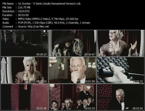 video Ti Sento (Audio Remastered Version) screen