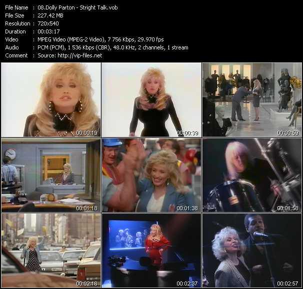 download Dolly Parton « Stright Talk » video vob