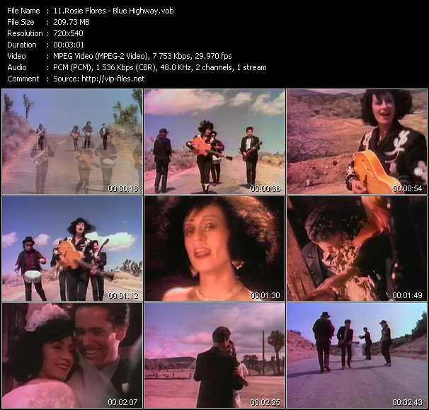 download Rosie Flores « Blue Highway » video vob