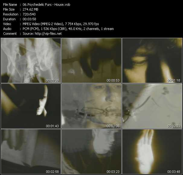 video House screen