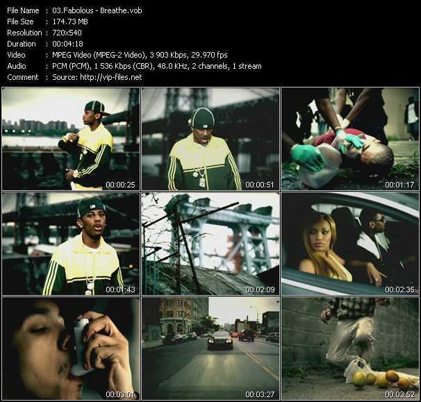Fabolous - music clip my time