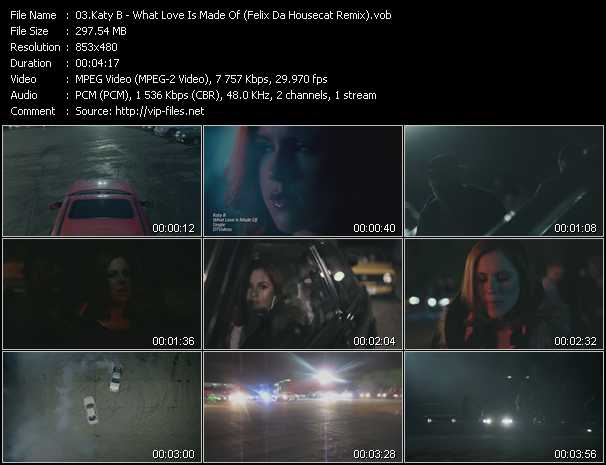 download Katy B « What Love Is Made Of (Felix Da Housecat Remix) » video vob