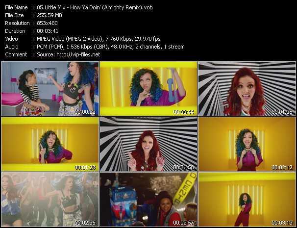 video How Ya Doin'? (Almighty Remix) screen