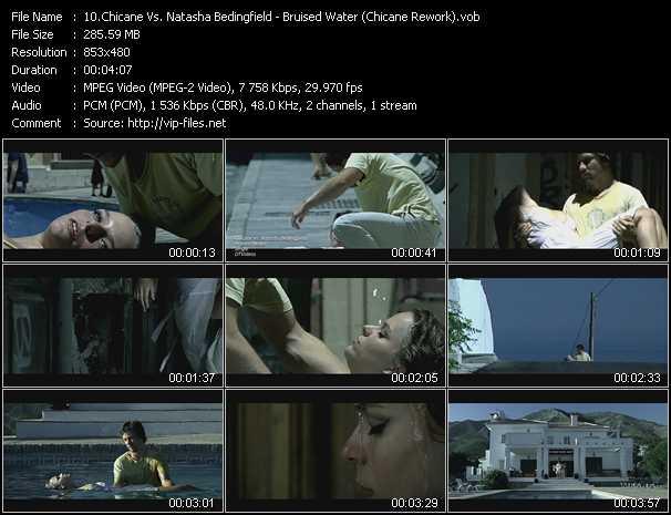 download Chicane Vs. Natasha Bedingfield « Bruised Water (Chicane Rework) » video vob