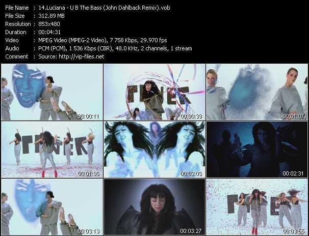 video U B The Bass (John Dahlback Remix) screen