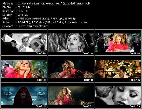 video Cliche (Hush Hush) (Extended Version) screen