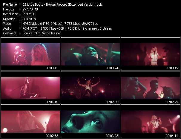video Broken Record (Extended Version) screen
