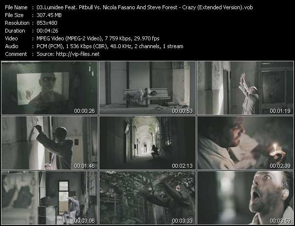 video Crazy (Extended Version) screen